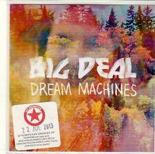 (EQ762) Big Deal, Dream Machines - 2013 DJ CD