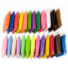 24 Color DIY Kids Ultra Light Modeling Super Light Clay Magic Air Dry Sculpting
