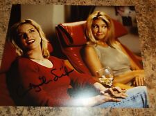 COURTNEY THORNE SMITH SIGNED 8X10 MATTE PHOTO W/ HEATHER LOCKLEAR (A) MELROSE