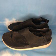 Fitflop Women Shoe Loosh Nubuck Size 8 M Black Slingback Sandals