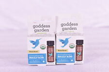 LOT OF 2 Goddess Garden Brain Boost Armoatherapy Bracelet Blend, 0.125 fl oz