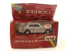 Polistil Politoys OC2 Rolls Royce Silber Cloud III Coupé 1/43 Neu IN Schachtel