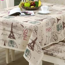 Table Decorative Tower Tablecloth Rectangle Dining Table Cover Heat Resistant