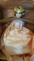 "Vintage MADAME ALEXANDER 20"" SELF PORTRAIT DOLL Pink Dress 2290 In Box Hand Tag"