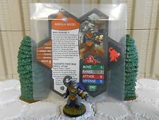 Heroscape Custom Gorilla Grodd Double Sided Card & Figure w/ Sleeve DC