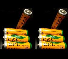 8 x AA MIGNON NI-MH AKKU 1,2V 3800 mAh Wiederaufladbar Batterien Akku aufladbar