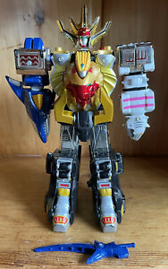 Bandai Power Rangers Wild Force Deluxe Wild Force Megazord 100% Complete