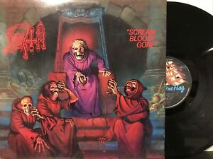 Death – Scream Bloody Gore LP 1987 Under One Flag – FLAG 12 NM/MM UK