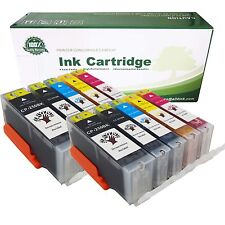 10PKs PGI-250 XL CLI-251 XL Ink Cartridges For Canon PIXMA MG5420 MG5520 MX922