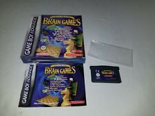 Telegames Ultimate Brain Games for GameBoy Advance CIB Complete K18