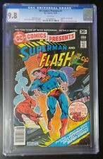DC Comics Presents #1 1978 CGC 9.8 White Pages Superman & Flash Team-Up