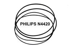 SET CINGHIE PHILIPS N4420 N 4420 REGISTRATORE A BOBINE BOBINA NUOVE FRESCHE!!!