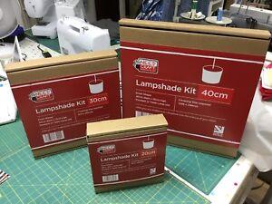 Need Craft Drum Lamp Shade Kits 3 sizes  25cm, 40cm or 45cm