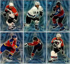 1999-00 UPPER DECK NEW ICE AGE INSERT CARDS - PICK SINGLES - FINISH SET Rare BV
