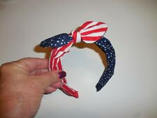 Gymboree Red White Blue 4th Of July Girl Headband Bow
