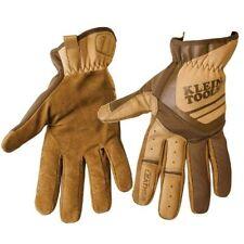 Klein Tool Journeyman Leather Utility Work Gloves Large