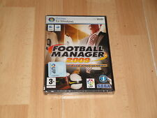Football manager 2009 castellano PC DVD PAL completo Sega entrenador de Futbol