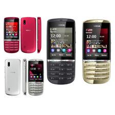 "Nokia Asha 300 5MP Camera Original Touch & Type 3G Unlocked Phone 2.4"" Hebrew"