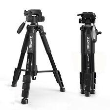 ZOMEI Q111 Kamerastativ Aluminium Reisestativ Stativ für Canon Nikon DSLR Kamera