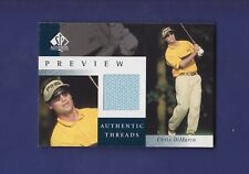 Chris DiMarco 2001 Authentic Threads UD Golf SP Authentic Preview (Mint)