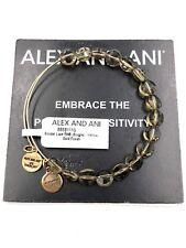 Authentic Alex & Ani Smoke Luxe Yellow Gold  BBEB111G NWT&MC