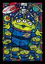 Tenyo Japan Jigsaw Puzzle DSG-266-958 Disney Toy Story Little Green Men Stained