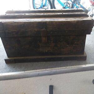 1897 Vanderman Strong Box
