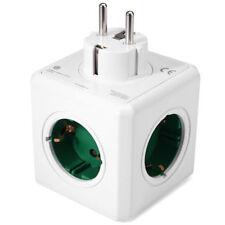 Allocacoc PowerCube Original Power Socket DE Plug 5 Outlets Adapter EU PLUG New