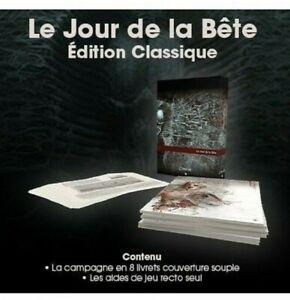 JDR / APPEL DE  CTHULHU V7  LE JOUR DE LA BETE EDITION CLASSIQUE