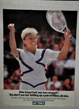 Martina Navratilova Yonex Rq-180 Wimbeldon 1998 Tennis Poster Vintage (221)