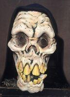 2003 The Paper Magic Group Halloween Hooded Skull Mask Grim Reaper Prop