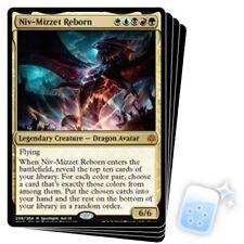 NIV-MIZZET REBORN X4 War Of The Spark WAR Magic MTG MINT CARD