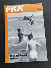 FKK Magazin Monatszeitschrift des Deutschen Verbandes der FKK e.V. (DFK) 11/1982