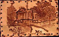 BUFFALO NEW YORK~THE HISTORICAL SOCIETY-LEATHER  POSTCARD 1900s