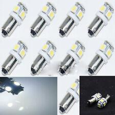 2Pcs Car White Super Bright T11 BA9S 5050 SMD 5 LED Car Light Bulb Lamp 12V Hot