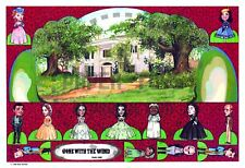 Reprint - Gone With The Wind Cut-Outs - Convention Memorabilia - Letter Size