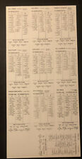 Strat-O-Matic Baseball 1960 Pittsburgh Pirates - Roberto Clemente