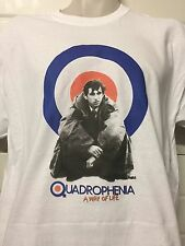 QUADROPHENIA TARGET SHIRT dvd poster MOD the who  ALL SIZES