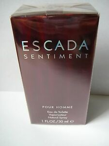 Escada Sentiment Pour Homme EDT 30ml(1oz) BNIB rare, discontinued!