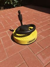 KARCHER PRESSURE WASHER PATIO CLEANER HEAD - USED BUT IN GOOD WORKING ORDER