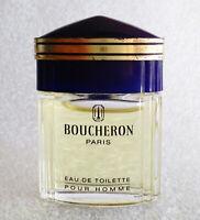 RARE Mini Eau Toilette ✿ BOUCHERON HOMME ✿ Perfume Parfum 5ml. = 0.17 fl.oz.