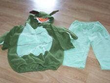 Size 24 Months Baby Grand Green Dragon Halloween Costume Jacket & Pants EUC