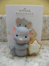 Hallmark 2012 Sweet Mouse Cookie Christmas Ornament Club Member Exclusive