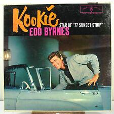 """12"""" 33 RPM MONO LP - WARNER BROTHERS W-1309 - EDD BYRNES """"KOOKIE"""" (1959)"""