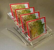 4-Fach Postkartenständer DIN A6,B6,C6 ,Postkartenhalter,Thekenaufsteller,Display