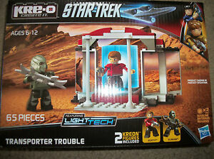 Kre-o Star Trek Ligth Tech Transporter Trouble  42mini New Bricks Kreo
