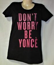 Junior's Beyonce Black T Shirt Size Large