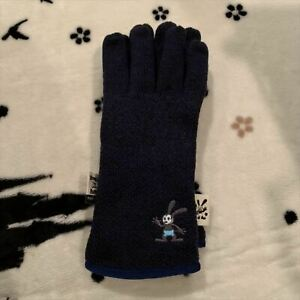 Oswald Men's Gloves Tokyo Disney Resort Limited Unused with Tag The Lucky Rabbit