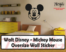 Walt Disney - Mickey Mouse Cartoon Logo Wall Vinyl Sticker