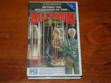 Millennium VHS 1990's Sci-Fi  Filmpac Home Video PAL